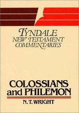 The Epistles of Paul to the Colossians and to Philemon: An Introduction and Comm