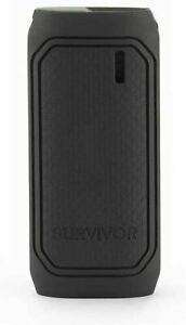 Griffin Survivor 6000 mAh Black Rugged Portable Battery Powerbank GC43442