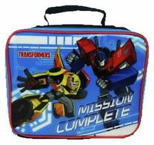 Official Licensed Transformers Mission Complete School Lunch Bag School