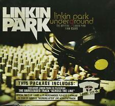Linkin Park Underground 9 (L Shirt Size) Fan Club Package Cd + More! - Open Box