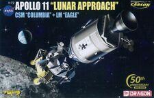 Dragon 11001 Apollo 11 - Lunar Approach - CSM Columbia + LM Eagle - 1:72