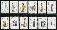China Stamp 1981 T69 Twelve Beauties of Jinling from A Dream of Red Mansions MNH