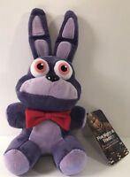 FUNKO FNAF BONNIE PLUSH TOY AUTHENTIC ORIGINAL NEW VAULTED! WILL NOT LAST