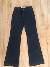 Ladies Dark Blue Denim COUNTRY ROAD Jeans  Size 6 Flare Leg
