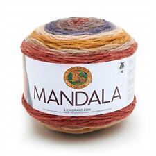 Hilado Mandala Centaur-Lion Brand DK Tejer Crochet Pastel de varios colores NUEVO