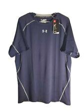 Under Armour 1257468-410 HeatGear Armour  Compression Shirt Navy 3XL