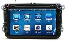 "8"" In Dash 2 DIN Car Stereo Radio DVD Player GPS Navigation For VolksWagen VW CC"