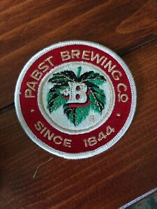 Pabst Brewing Co Patch-NEW