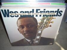 WES MONTGOMERY / MILT JACKSON / GEORGE SHEARING wes & friends ( jazz ) 2lp
