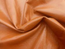 Lambskin sheepskin leather hide skin pelt Whiskey Semigloss finish