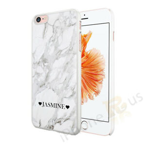 Personalised Marble Phone Case Cover For Apple Samsung Huawei 026-2