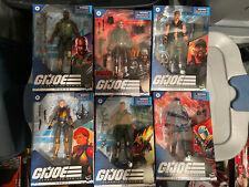 gi joe classified figures lot moc cobra 6 collection