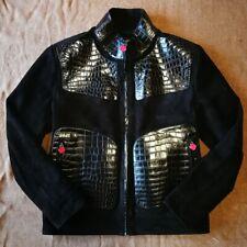 Kiton crocodile leather Jacket  size52