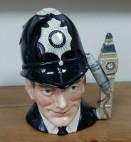 Royal Doulton Character Jug - The London Bobby D6744 -  Good Condition