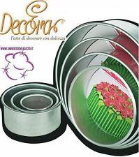 Schimmel Runder Gerade Decora 10X10 Zuckerpaste Cake Design Dekoration Kuchen