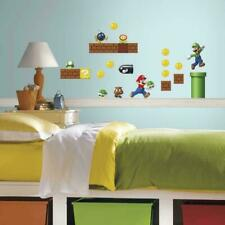 Super Mario RoomMates Vinyl Wall 45 Bedroom Decals Stickers