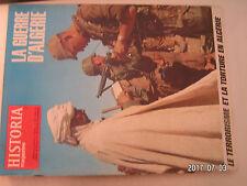 ** Historia Magazine Guerre d'Algérie n°226 Terrorisme et torture  / Agounennda