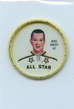 62-63 SHIRRIFF HOCKEY COIN #45 DOUG HARVEY ALL-STAR
