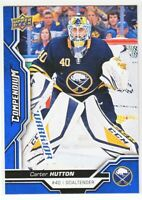 2018-19 Upper Deck Compendium Series 2 BLUE Carter Hutton