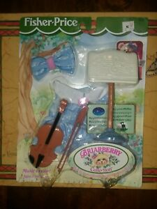 NEW!!!1998 Fisher-Price BRIARBERRY Collection MUSIC LESSON