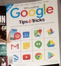 100% Unofficial Google Tips & Tricks Bookazine gmail play maps chrome google+