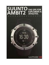 Suunto Ambit2 Sapphire HR Laufuhr Herzfrequenzuhr Navigationsuhr