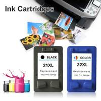 Genuine HP 21 22 Replacement Ink Cartridges Combo for C9351 C9352 F4180 Printers
