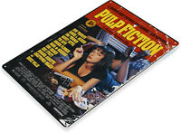 TIN SIGN Pulp Fiction Movie Poster Home Theater Store A144