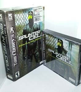 Tom Clancy's Splinter Cell (Ubisoft 2002) PC, Big Box, Complete, Tested