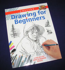 Collins Drawing for Beginners step by step guide to success 1998 hardcover