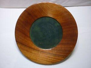 Paul W. Eshelman Wood Turned Plate Bowl Platter Rohrerstown PA