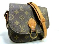 Auth LOUIS VUITTON Monogram Saint Cloud PM Shoulder Bag M51244 LV 59815211