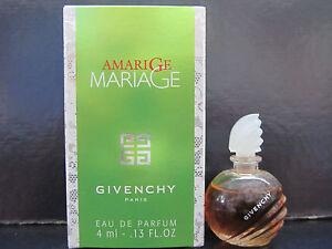 Amarige Mariage Givenchy Women .13 oz Eau de Parfum Splash Mini New In Box