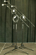 NEW 3pk Shure SM58S Microphones w Ultimate Stands & 20' Cables! Free US 48 Ship!