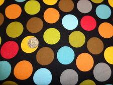 Large Dots Flannel BT yard By Bella BLVD Designs  Puppy Park line