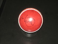 MICHAEL CLARKE HAND SIGNED RED CRICKET BALL UNFRAMED + PHOTO PROOF &  C.O.A