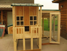 Chicken coop plan & material list, emailed version, Little Coop On The Prairie