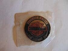 INSIGNIA CREST MINI BADGE HARLEY DAVIDSON MOTOR CYCLES THIENSVILLE WI PEEL OFF B