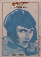 "Indiana Jones Kingdom Crystal Skull - Randy Martinez ""Irina Spalko"" Sketch Card"