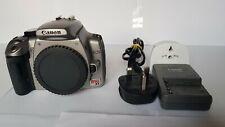 Canon Rebel XT/350D 8.0MP DSLR, Batteria & Caricabatteria