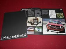 1979 1980 LANCIA ZAGATO, COUPE, HPE, BETA SEDAN 22 Page BROCHURE, 79 80 CATALOG