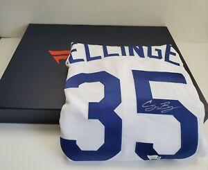 CODY BELLINGER Autographed LA Dodgers Home Authentic Majestic Jersey SZ 44