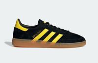 adidas Originals Spezial SPZL in Black and Yellow Suede Trainers