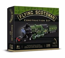 Flying Scotsman Construction Set 338 PIECE STAINLESS STEEL SYSTEM Meccano Like