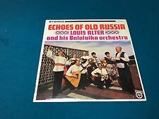 Louis Alter & His Balaika Orchestra Vinyl LP Echoes Of Old Russia