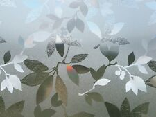 Fensterfolie Blätter GLC1058 - statische Dekorfolie Sichtschutz Folie Meterware