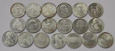 ÖSTERREICH: Komplettsatz 25 Schilling Gedenkmünzen 1955-1973,ANK 40-ANK 58,SET 1