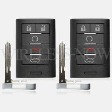 2 Car Key Fob Keyless Entry Remote 5B For 2008 2009 2010 2011 Cadillac STS