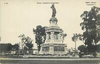 Miret Real Photo Postcard Mexico Estatua de Cuauhtemoc statue