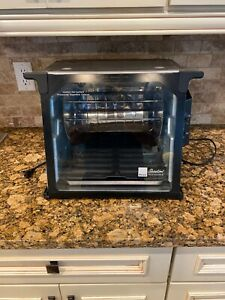 Ronco SHOWTIME ROTISSERIE Oven, Model ST 4000 Stainless Finish. used One Time